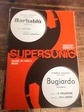 """SPARTITO G. CINQUETTI """"BARBABLU"""" + R. MAZZONI """"BUGIARDO"""""""