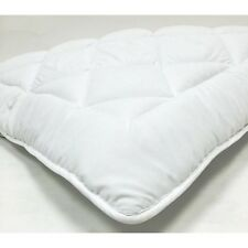 Down Alternative Mattress Topper / Pad- w/ Stay Tight Anchor Straps (QUEEN)