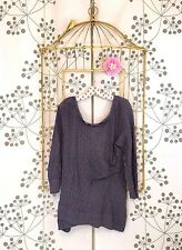 Darling EUC ANthropologie Deletta Puckered Lace Pullover TUnic Top M/L