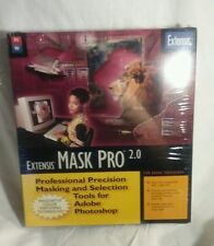 Extensis Mask Pro 2.0 PC MAC NIB Photo/Image Adobe PhotoShop Retro Software 1998
