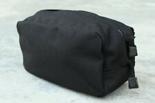 TMC Large Utility Tactical Black Cordura Molle Pouch Bag for Paintball Airsoft