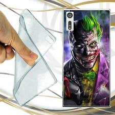 CUSTODIA COVER CASE TPU JOKER SCONTRO PER SONY XPERIA XZ