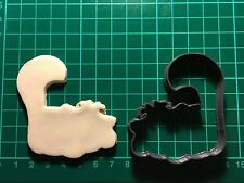 Cheshire Cat Alice in wonderland shape for cupcake Cookie Cutter UK