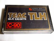 CASSETTE TAPE - 1x (one) TEAC TLH C-90 [1970's] - made in Japan - ULTRA RARE