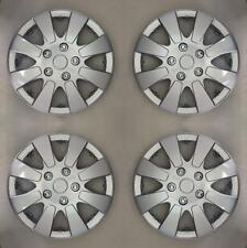 "Silver 13 Inch 13"" Hub Cap Wheel Trims for Ford Fiesta MK 4 1995 to 2002 X109"