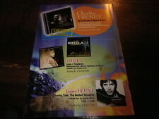 CHARLES TRENET - SHEILA - JAMES BLUNT - Plan média / Press kit !!!