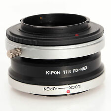 Kipon Sony E Mount to Canon FD Tilt-NEX Body Mount Adapter Ring - Boxed
