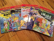 EUC LOT Of 5 The Magic School Bus: Science Chapter Books #1-5  RV $24.95