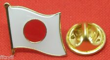 Japan Japanese Country Flag Lapel Hat Tie Cap Pin Badge Brooch Brand