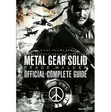 Metal Gear Solid Peace Walker official complete guide book / PSP