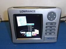 LOWRANCE HDS5 US BACKGROUND GPS AND FISHFINDER HDS 5 HDS-5 GEN1