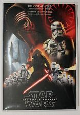 Star War Force Awakens Lithograph Set of 7 Limited Edition 10000 May the 4th