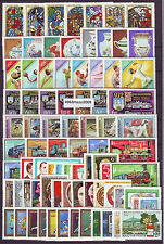 Hungary 1972. Year set with blocks, 96 stamps + 7 Souvenir sheets, EUR 112.-
