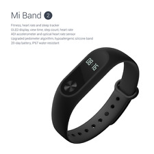 Xiaomi Mi band 2 OLED UK STOCK! Heart Rate Monitor pedometer Fitness Tracker