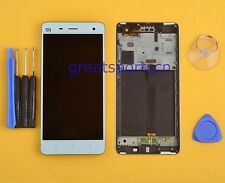 LCD Display Touch Screen Digitizer Assembly+Frame For Xiaomi Mi4 Mi-4 M4 White