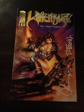 Witchblade 1 Signed By Christina Z, David Wohl, D-tron, and ? VF