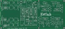 Active Speaker Module 4x LM3886 3 way 2 way+sub Chipamp Gainclone PCB ONLY DIY