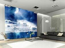 Ocean at Night  Wall Mural Photo Wallpaper GIANT DECOR Paper Poster Free Paste