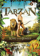 Tarzan Collection: Includes 12 Movies (DVD, 2016, 2-Disc Set)
