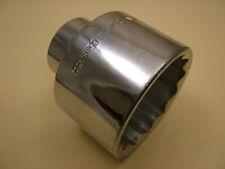 """3/4"""" drive socket bi-hex 12 point, 65mm chrome vanadium, fits many hub nuts"""