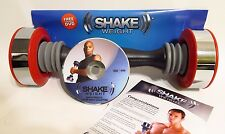 Shake Weight Dumbbell with DVD NEW 5lbs, for Weight Loss and Strength Training