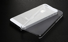Crystal Clear Transparent Glossy Hard Plastic Back Case Cover For iPhone 5 5S