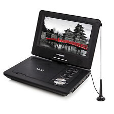 MULTI REGION AKAI 10 INCH PORTABLE DVD PLAYER WITH FREEVIEW USB INPUT REMOTE NEW