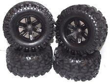 X-MAXX Wheels & Tires (8s Factory Glued Assembled (set 4 NEW Traxxas 77086-4 86