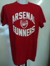 ARSENAL BOYS RED COTTON TEE SHIRT SIZE 12-13 YEARS OFFICIAL MERCHANDISE BRAND