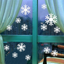 Snowflakes Wall/Window Sticker Vinyl Christmas Decal Removable Decor xab