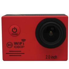 Red Mini SJ7000 Action Camera Outdoor Waterproof Cam 1080P HD Sport DVR 2.0