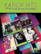 14 Pop Hits for Big Note Piano by Hal Leonard Corporation (Paperback, 2013)