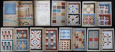 1930 Ceramic Tile Catalog with 36 Color Litho Pages - ''Ceramiques de la Lys''