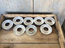 Vintage Group Of Eight Metal Doughnut Pastry Molds