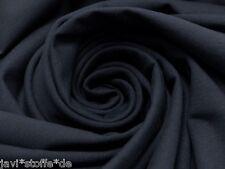 Sweatshirt French Terry schwarz uni einfarbig Meterware Kinderstoff Baumwolle