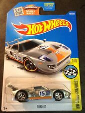 2016 Hot Wheels Ford GT Super CUSTOM Gulf ZAMAC with Real Riders