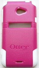 NEW Otterbox HTC EVO 4G LTE Pink/White Commuter Series Case Smart Cell Phone