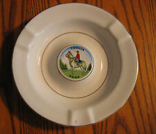 ROYAL CANADIAN MOUNTED POLICE Porcelain Ashtray