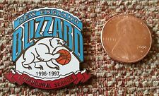 NEW ENGLAND BLIZZARD INAUGURAL SEASON ABL American Basketball League Lapel Pin