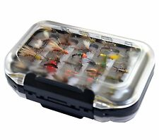 Go-to Dry Fly, Wet Fly, Nymph and Streamer Fly Fishing Lure+Waterproof fly box