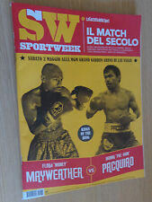 SPORT WEEK ANNO 16 N°16 (732) 25 APRILE 2015 MAYWEATHER VS PACQUIAO