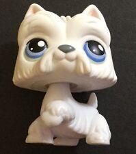 Littlest Pet Shop White Westie Scottish Terrier #24 Scottie Dog