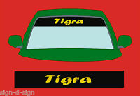 TIGRA SUNSTRIP DECALS GRAPHICS STICKER choose any 2 colours from list