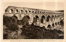 CPA 30 LE PONT DU GARD  aqueduc romain