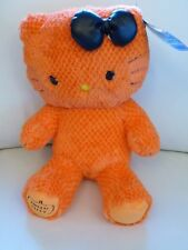 BNWTs Halloween NUMBERED Ltd Ed ORANGE HELLO KITTY  - Build a Bear