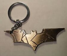 "Batman Dark Knight ""Batarang Shuriken"" Metal Key Chain GOLD Color +Bat-ZWAAG!!!"