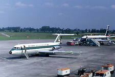 Airliner Postcard Aer Lingus BAC 111 BOAC B707 Manchester Airport