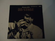 Elvis Presley – on stage, February 1970 RCA VINILE LP