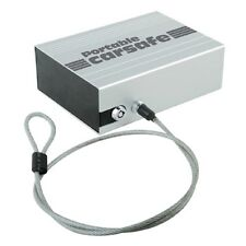 Portable Car Safe with a Key Lock and Locking Security Cable, Boats and RV's