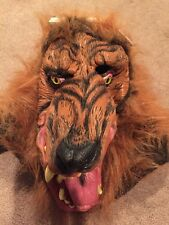 Adult Werewolf  Halloween Mask NEW One Size Fits Most Fur Little Red Riding Hood